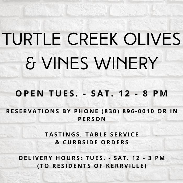 Turtle Creek Olives & Vines Winery 05-22-20